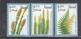 Aland 2001 - Plants, Mi-Nr. 187/89, MNH** - Aland
