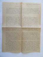 Tauromachie - Réédition De 1966 De L'Edit Relatif à La 1ère Course De Taureaux à GALLARGUES - Documents Historiques