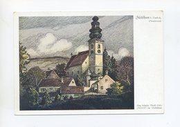 Um 1938 Österreichanschluss 3.Reich Farbige Postkarte Die Heimat Des Führers Fischlham Bei Lambach Oberösterreich - Germany