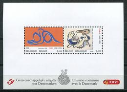 Belgium 2006 Bélgica / Modern Art Joint Issue Denmark MNH Arte Emision Conjunta Dinamarca / Ju19  33-63 - Modernos