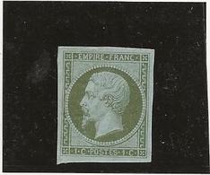 TIMBRE NAPOLEON III ND -N° 11 - NEUF CHARNIERE PAPIER -TB ANNEE 1860 - COTE : 275 € - 1853-1860 Napoleone III