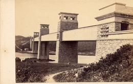 CDV, Brittannia Bridge, Menai Straits, Anglesey, F.Bedford - Fotos