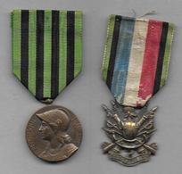 2 Médailles Guerre De 1870 - France