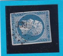 N° 14A    PC 3391    TOURNEBU  ( 13 )  CALVADOS  - REF 14615  - IND 18 -COTE 300€ + Variété - 1853-1860 Napoléon III