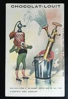 Louit Surrealisme Torero Parfum Robinet  Anthropomorphisme Objet Humanisé Esprit Des Choses Chromo Fag - Louit