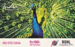 PREPAID PHONE CARD INDIA (PY612 - India
