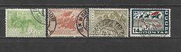 1930 - N. 450/53 USATI (CATALOGO UNIFICATO) - Usati