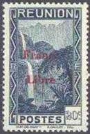 Réunion N° 225 ** Vue -> Bras Des Demoiselles - Emission Surchargée France Libre - Reunion Island (1852-1975)