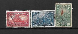 1930 - N. 457/59 USATI (CATALOGO UNIFICATO) - Usati