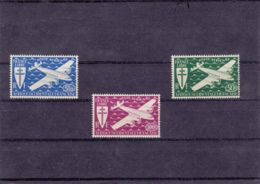 1945 - Afrique Occidentale - Poste Aérienne - YT N° 1 à 3** - A.O.F. (1934-1959)