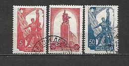 1938 - N. 614/16 USATI (CATALOGO UNIFICATO) - 1923-1991 URSS