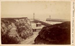 CDV, Whitby, J.Waller, Pier Portrait Rooms - Fotos