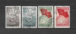 1938 - N. 617/20 USATI (CATALOGO UNIFICATO) - 1923-1991 URSS
