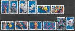 2019 FRANCE Adhesif  1789-800 Oblitérés, Voeux, Carnet Fantastique  , Série Complète - Adhesive Stamps
