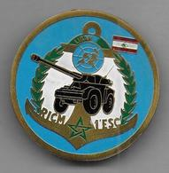 RICM  1er Escadron LIBAN - Insigne Fabrication Locale - Armée De Terre