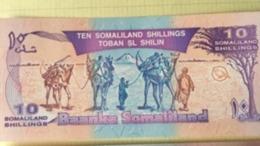 Billet Somalie 10 Shilling - Somalie