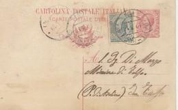 1919. Annullo Ambulante BARI - FOGGIA (3) Su Cartolina Postale,  Con Testo - 1900-44 Vittorio Emanuele III