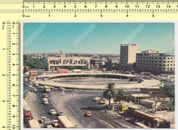 1979 IRAQ, BAGHDAD, FREEDOM MONUMENT, PLACE AL-TAHRIR, Old Car, Nice Stamps,  Vintage Photo Postcard Rppc Pc - Iraq