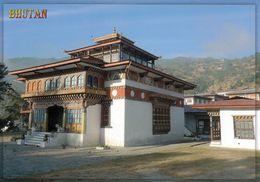 1 AK Bhutan * Das Kloster In Khuruthang * - Bhutan