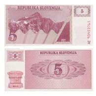 Billet Slovenie 5 Tolar - Slovénie