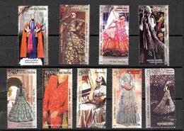 INDIA- 2020 Indian Fashion Designer Creations- Series 4- Issue- Complete MNH Set Of 9v- Créateurs De Mode- Stilisti- - Unused Stamps