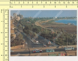 1970s IRAQ, BAGHDAD, Abu Nowas St. Old Car, Vintage Photo Postcard Rppc Pc - Iraq