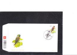 Buzin 3379/81 Bruant Zizi - Mouette Mélanocephale - Perdrix Grise - 1985-.. Uccelli (Buzin)