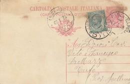 1919. Annullo Ambulante AMB PAOLA - NAPOLI (D),  Su Cartolina Postale Con Testo. - 1900-44 Vittorio Emanuele III