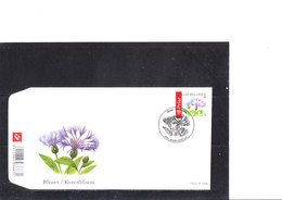 Buzin 3548 Fleur - Bluet Des Champs - 1985-.. Uccelli (Buzin)