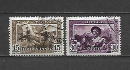 1941 - N. 829/30 USATI (CATALOGO UNIFICATO) - 1923-1991 URSS
