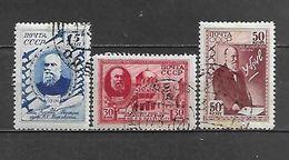 1941 - N. 831/33 USATI (CATALOGO UNIFICATO) - 1923-1991 URSS