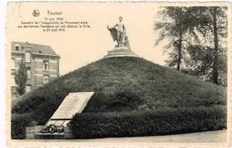 - CPA - Tournai -Souvenir De L'inauguration Du Monument élevé Aux Territotiaux Vendéens Qui On Défendu La Ville En 1914 - Tournai