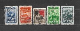 1943 - N. 919/23 USATI (CATALOGO UNIFICATO) - 1923-1991 URSS