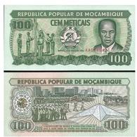 Billet Mozambique 100 Meticais - Mozambique