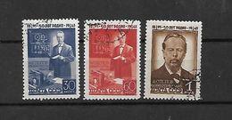 1945 - N. 985/87 USATI (CATALOGO UNIFICATO) - 1923-1991 URSS