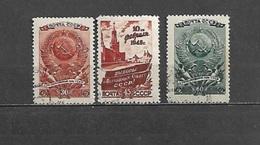 1946 - N. 1037/39 USATI (CATALOGO UNIFICATO) - 1923-1991 URSS