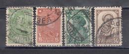 USSR 1929/32 - Freimarken, Mi-Nr. 366A, 369A, 373A, 375A, Used - 1923-1991 UdSSR