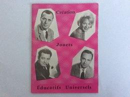 """Catalogue : """" Création Jouets Educatifs Universels """" Jeux Siglés ORTF - 20 Pages En Couleurs - 9x12cm - Autres"""