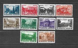 1949 - N. 1356/65 USATI (CATALOGO UNIFICATO) - 1923-1991 URSS