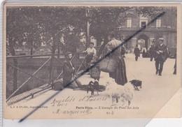 Paris Vécu (75) 6ém Arr.) Laveugle Du Pont Des Arts (carte Précurseur N° 4 De 1904) - Paris (06)