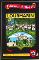 CPSM 84   LOURMARIN BLASON ADHESIF - Lourmarin