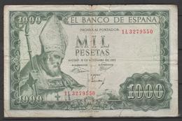 ESPAÑA  BILLETE DE 1000Pts. 19.11.1965 Pequeñas Rotura  (C.B) - [ 1] …-1931 : Prime Banconote (Banco De España)