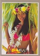 CPM Tahiti #489 - Filles Des Mers Du Sud - Belle Vahine - Tahiti