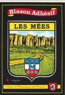 CPSM  04 LES MEES BLASON ADHESIF - Francia