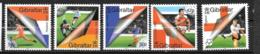 EURO 2000 - GIBRALTAR - 906 à 910 **MNH - Championnat D'Europe (UEFA)