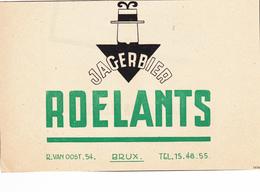 Brasserie Roelants à Schaerbeek - Publicités