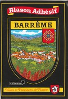 CPSM  04 BARREME BLASON ADHESIF - Francia
