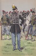 Garde Impériale Commandant De Chasseurs à Pied 1857 - Uniformes