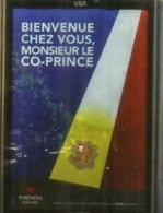 Visite Du President Francais E Macron,Co-Prince D'Andorre,Septembre 2019.Timbre Charlemagne, Fondateur D'Andorre - Andorre Français