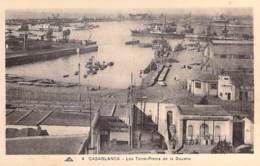 MAROC Morocco - CASABLANCA Les Terre-Pleins De La Douane ( Sté Marocaine De Charbonnages ) CPA Afrique Du Nord - Maghreb - Casablanca